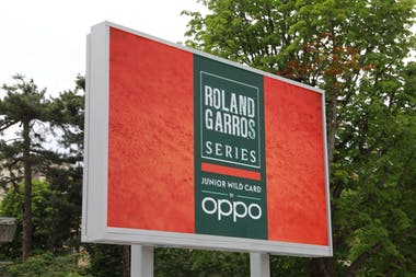 Panneau Roland-Garros Junior Wild Card Series