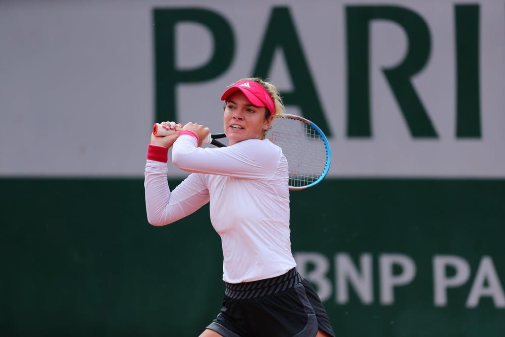 Catherine McNally, Roland Garros 2020, qualifications