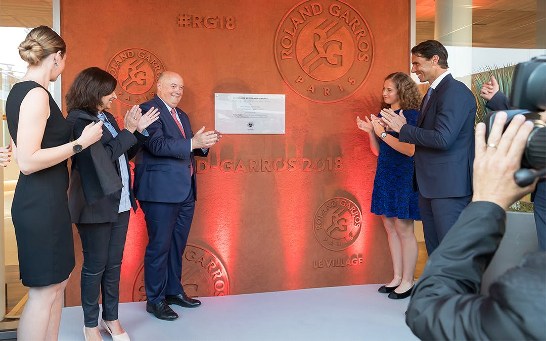 Inauguration du Village de Roland-Garros 2018 / New Village at Roland-Garros 2018