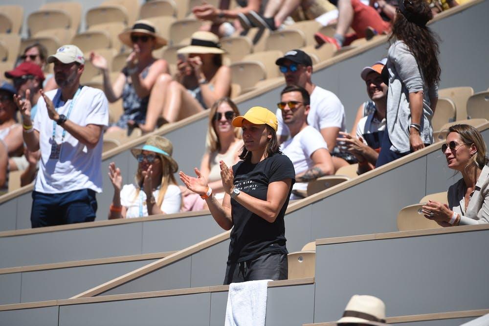 Sandra Zaniewska coach of Petra Martic