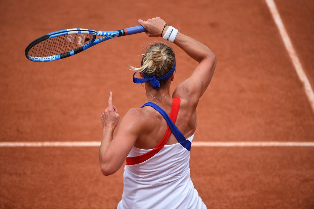 Pauline Parmentier Roland-Garros 2018