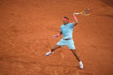 Rafael Nadal, Roland-Garros 2020, 1er tour