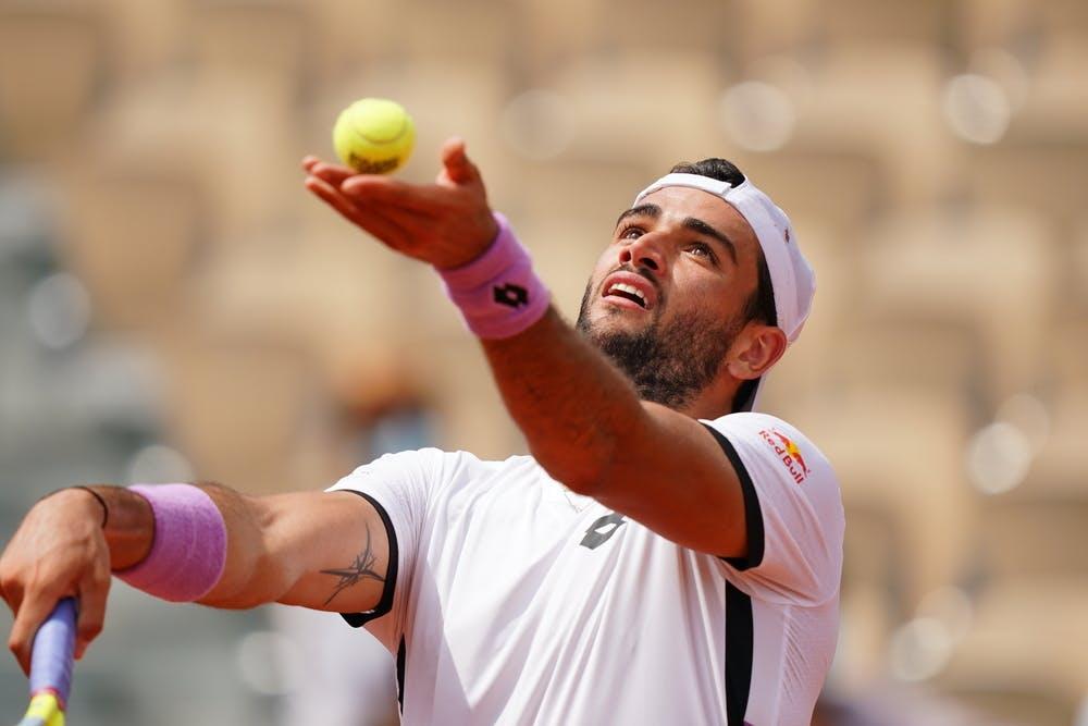 Matteo Berrettini, Roland Garros 2021, second round