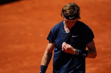 Andrey Rublev, Roland-Garros 2021 first round