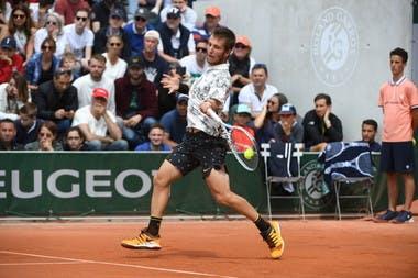 Corentin Moutet - Roland-Garros 2019 - 2e tour