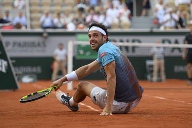 Roland-Garros 2018, 8e de finale, Marco Cecchinato,
