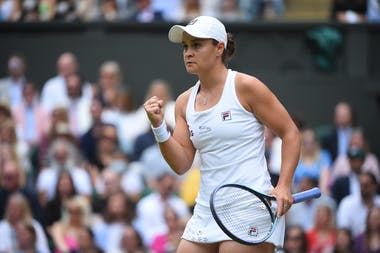 Ashleigh Barty, one step from Wimbledon glory