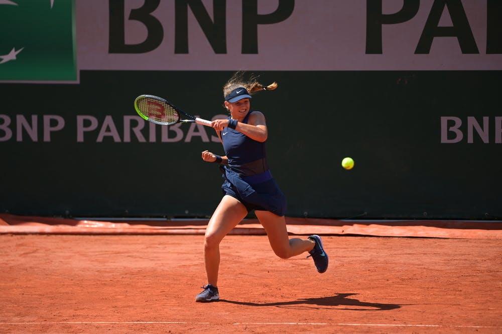 Victoria Jimenez Kasintseva, Roland Garros 2021, girls' singles first round