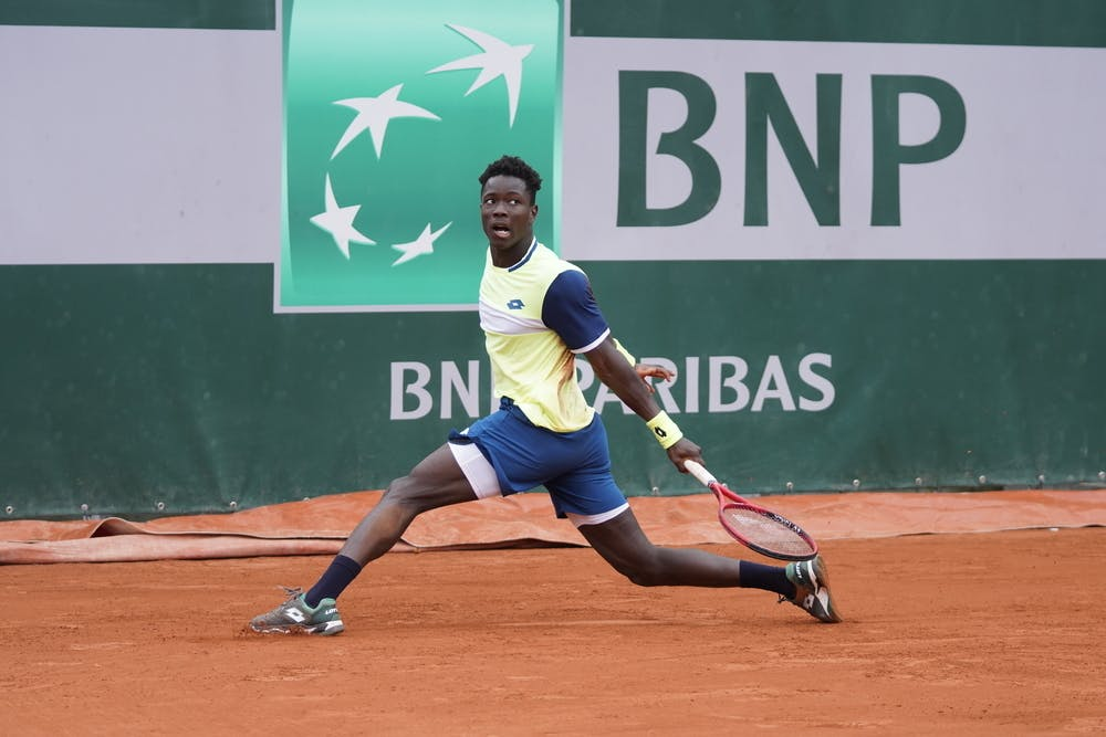Eliakim Coulibaly, Roland Garros 2020, first round juniors