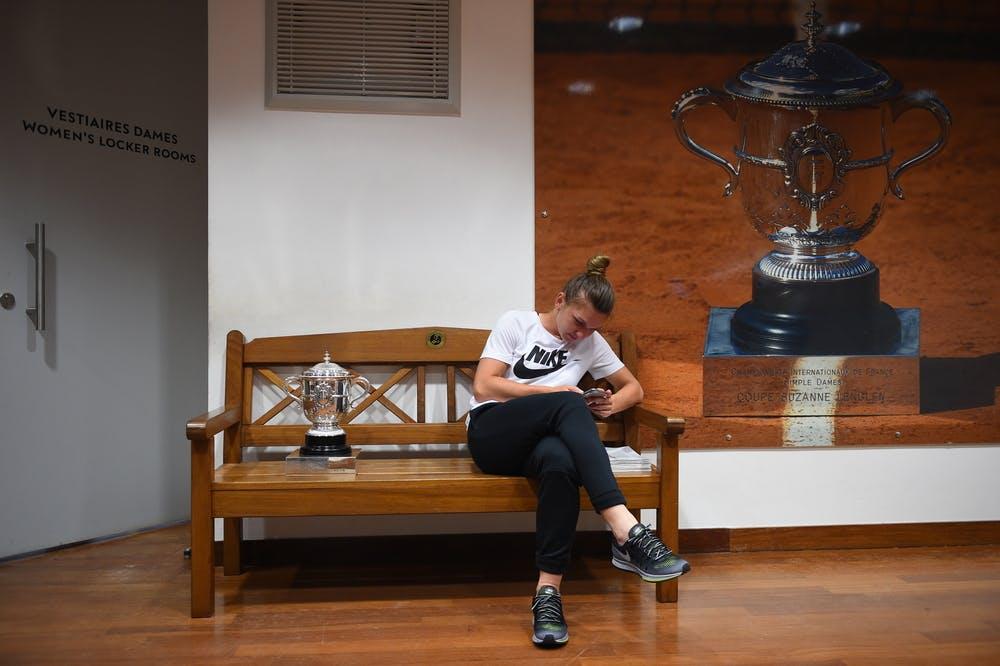 Simona Halep Roland-Garros Coupe