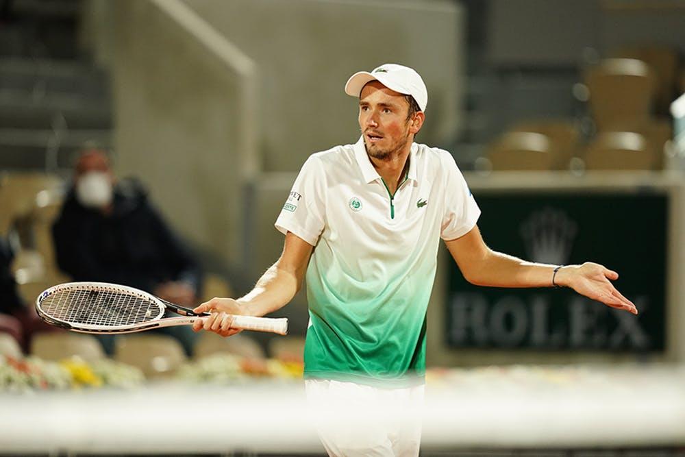 Daniil Medvedev, Roland-Garros 2020, 1er tour