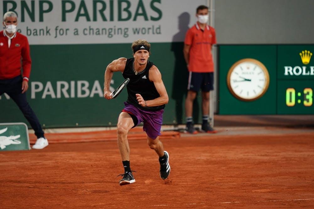Alexander Zverev Roland Garros 2021