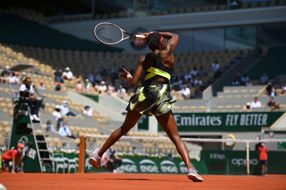 Coco Gauff, Roland Garros 2021, fourth round