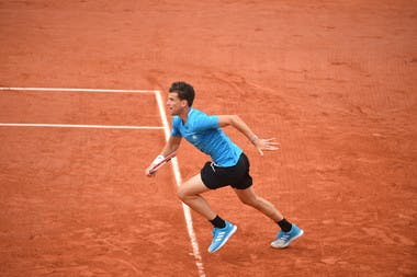 Dominic Thiem - Roland-Garros 2019 - 2e tour