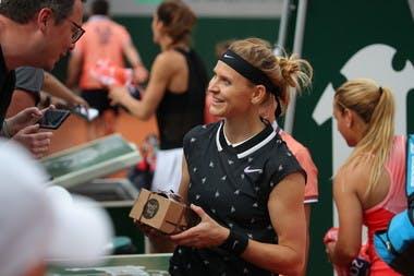 Lucie Safarova farewell match 2019