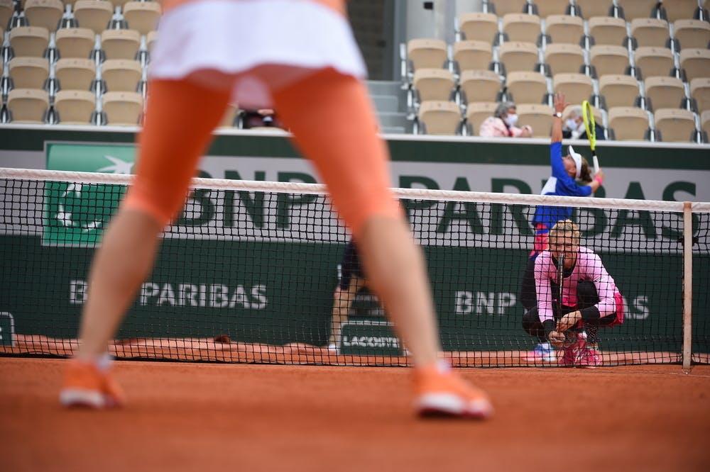 Barbora Krejcikova, Katerina Siniakova, Roland Garros 2020, Doubles semi-finals
