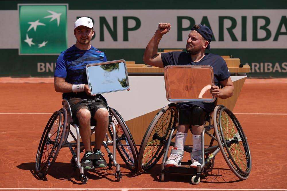 Sam Schroder, Dylan Alcott, Roland-Garros 2021, men's quad singles final