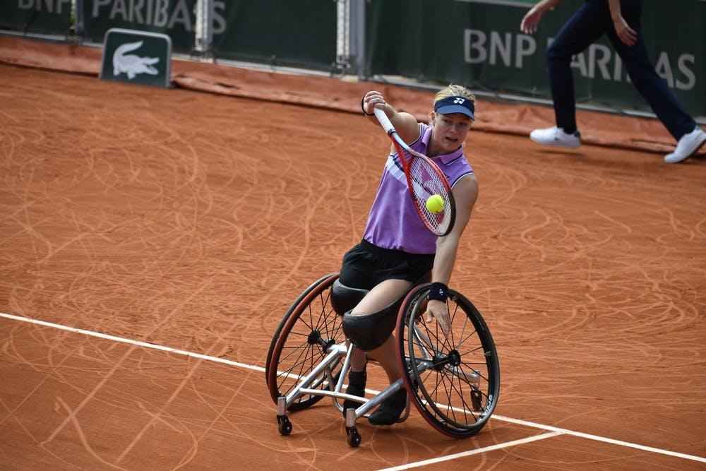 Diede de Groot, Roland-Garros 2021