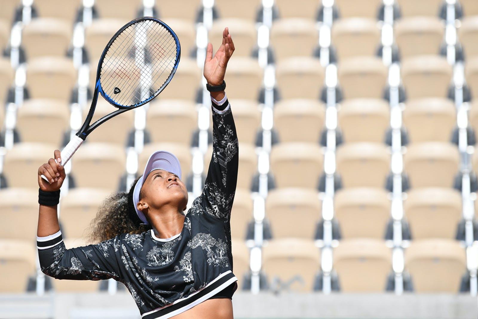 Naomi Osaka - Roland-Garros 2019 - entraînement