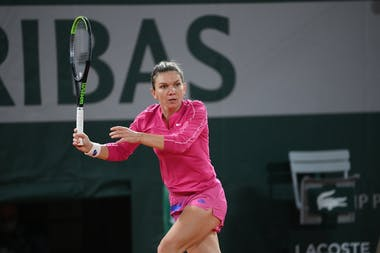 Simona Halep, Roland Garros 2020, third round