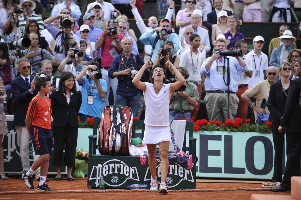 Francesca Schiavone, Roland Garros 2010, final
