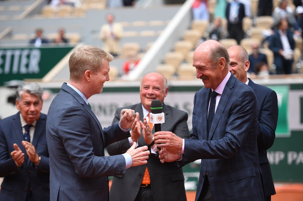 Jim Courier - Stan Smith - Hall of Fame - Roland-Garros  2019