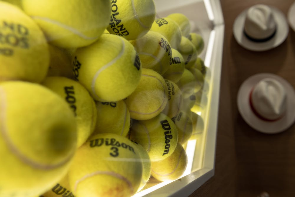Balles, Wilson, Roland-Garros, Boutique
