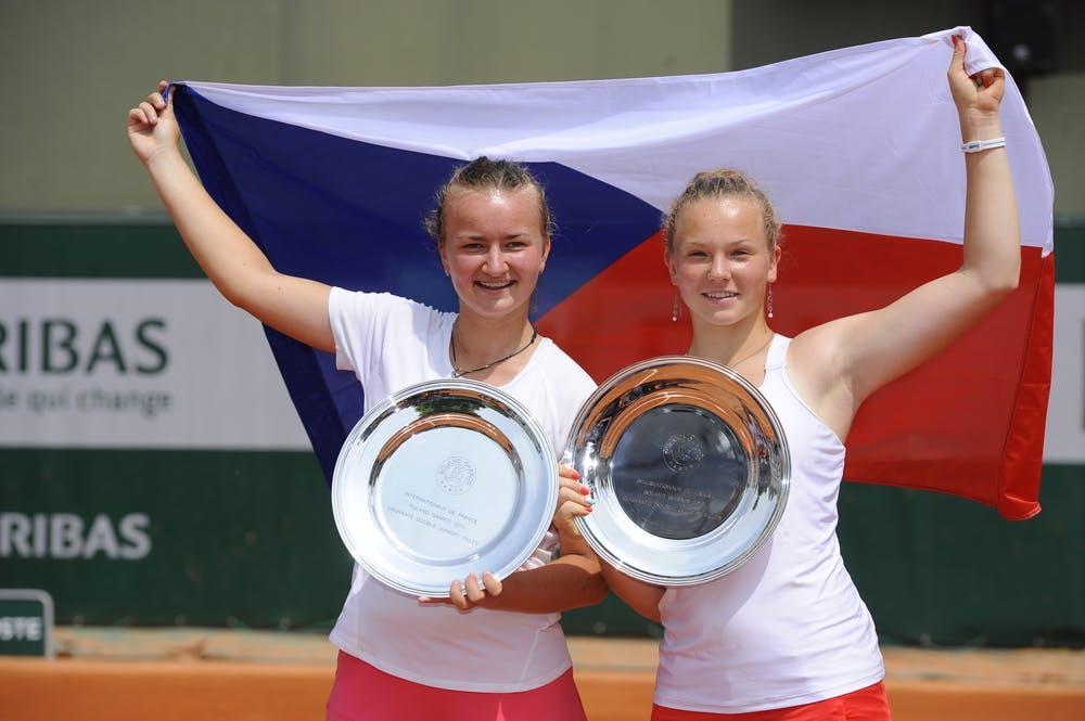 Barbora Krejcikova Katerina Siniakova Roland Garros 2013