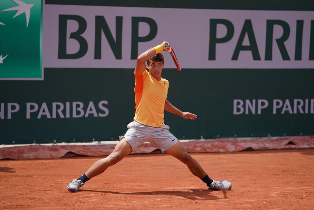 Dali Blanch, Roland-Garros 2021, boys singles first round
