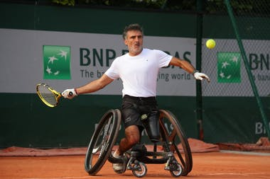 Stephane Houdet, Roland Garros 2019