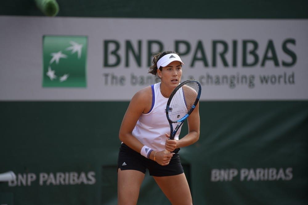 Garbine Muguruza, Roland Garros 2021, practice