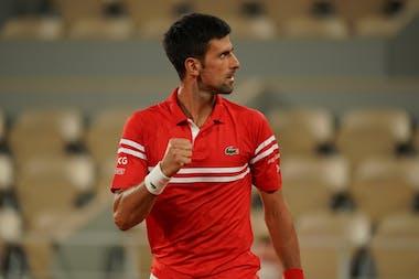 Novak Djokovic / Quarts de finale Roland-Garros 2021