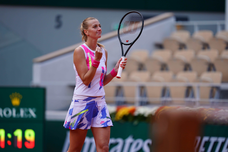 Petra Kvitova, Roland-Garros 2020, quarts de finale