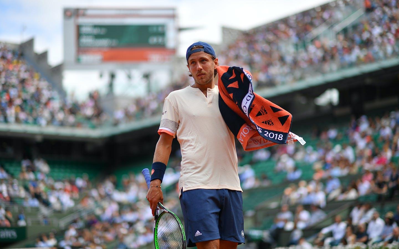Lucas Pouille troisième tour Roland-Garros 2018