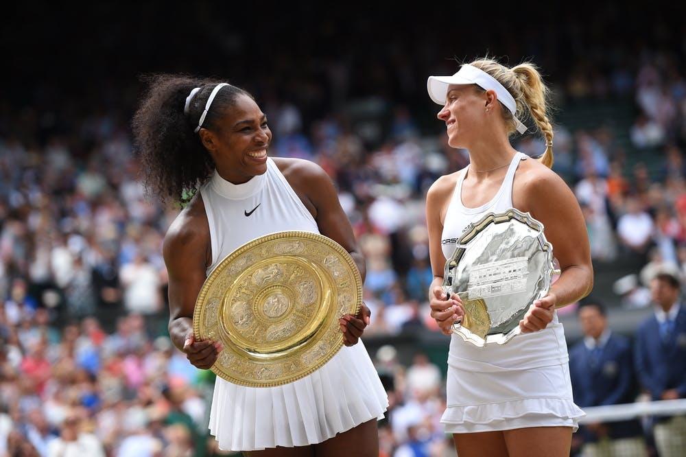 Serena Williams Angelique Kerber finale Wimbledon 2016