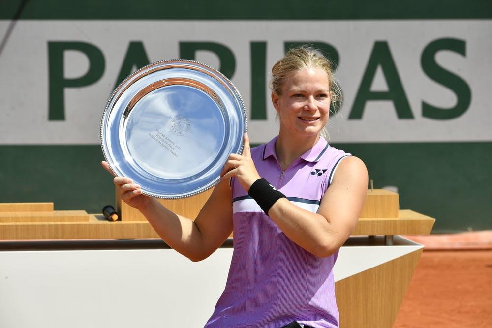 Diede de Groot, Roland-Garros 2021, women's wheelchair singles final