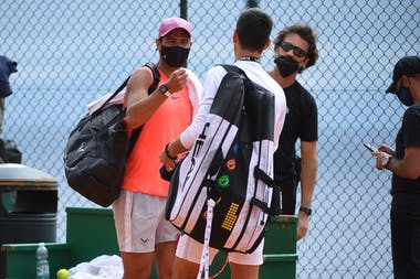 Rafael Nadal, Novak Djokovic, Monte Carlo Masters 2021