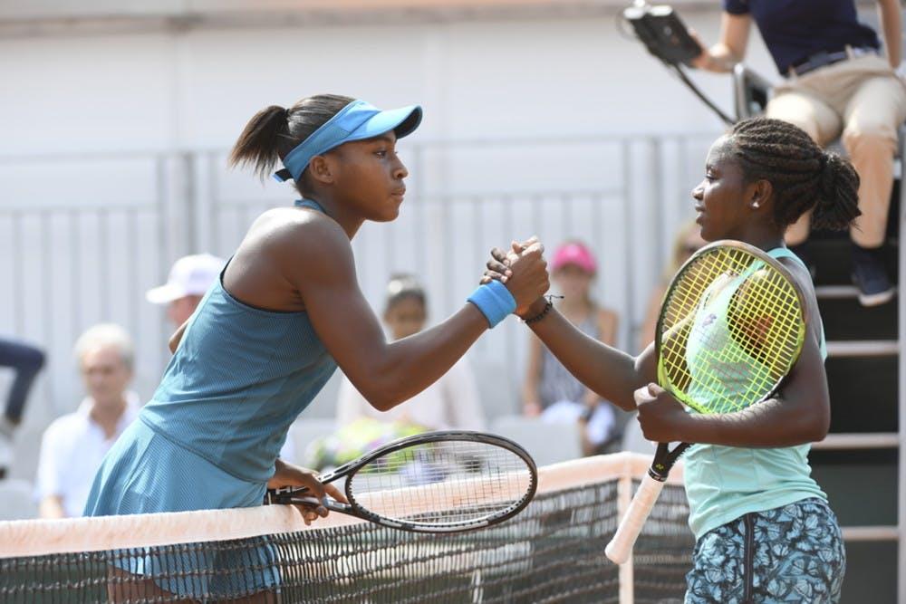 Cori Gauff Roland-Garros 2018 vs Leylah Annie Fernandez