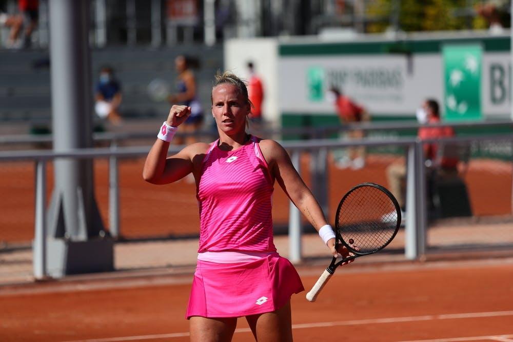 Richel Hogenkamp, Roland Garros 2020, qualifying first round