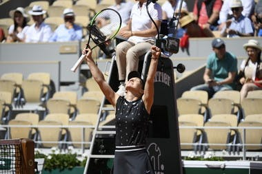 Simona Halep third round Roland Garros 2019