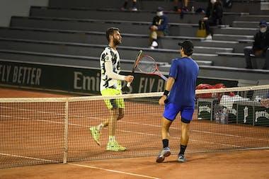 Quentin Halys, Marcos Giron, Roland-Garros 2020, 1er tour