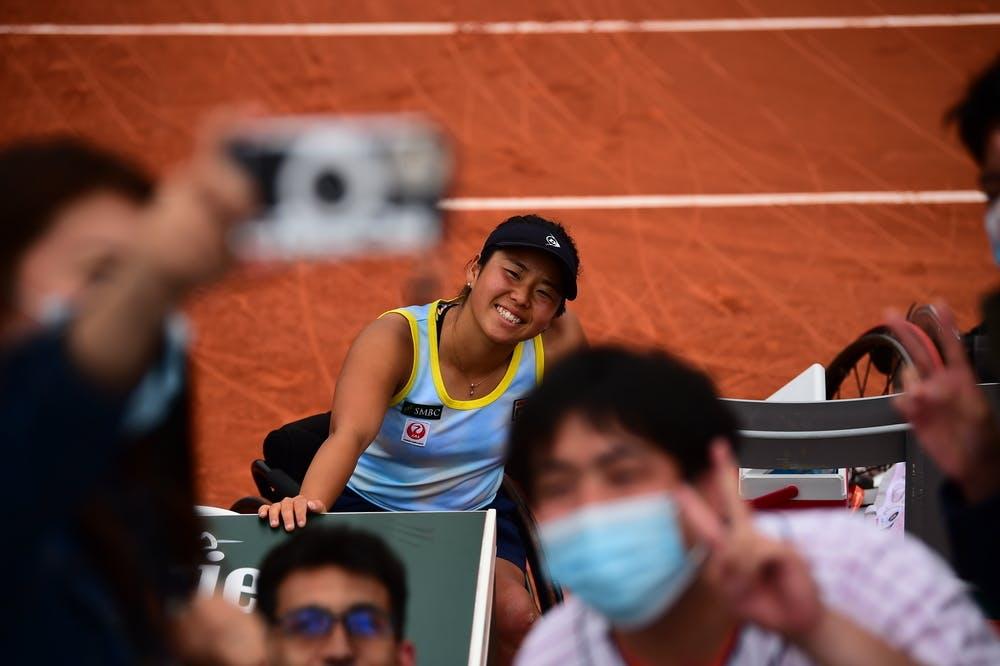 Yui Kamiji, Roland-Garros 2021, women's wheelchair singles semi-finals