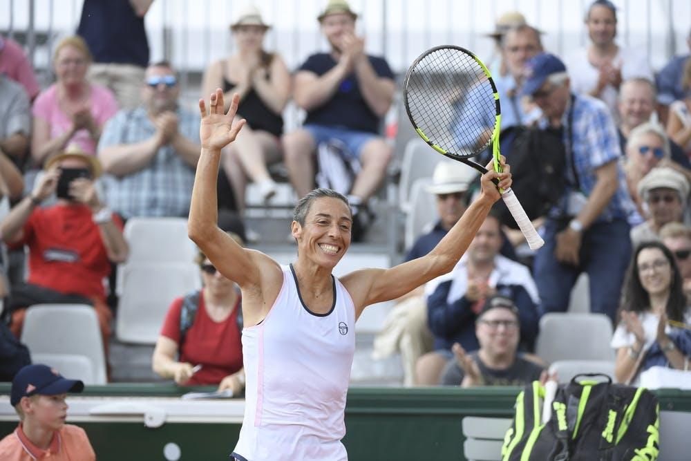 Roland-Garros 2018, Francesca Schiavone