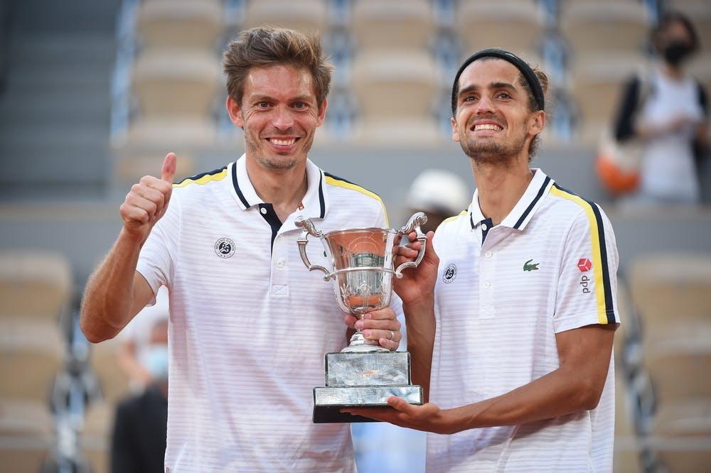 Nicolas Mahut, Pierre-Hugues Herbert, Roland Garros 2021, doubles final