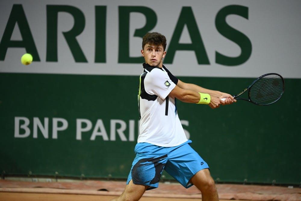 Luca Nardi, Roland Garros 2020, juniors first round