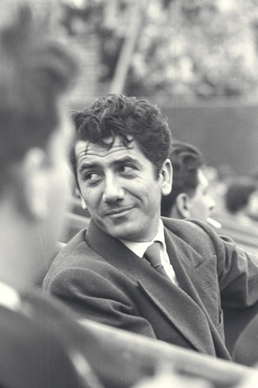Daniel Gélin, Roland-Garros 1954.