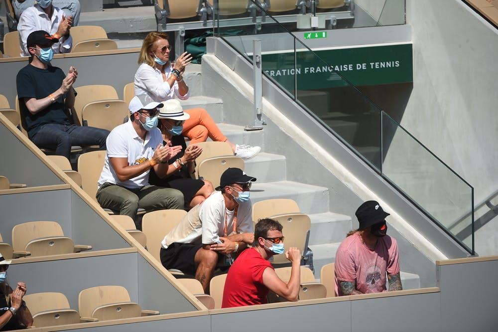 Anastasia Pavlyuchenkova team, Roland-Garros 2021, semi-final