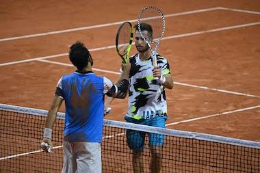 Corentin Moutet Lorenzo Giustino Roland-Garros 2020