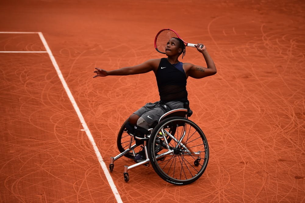 Kgothatso Montjane, Roland-Garros 2021, wheelchair singles semi-finals