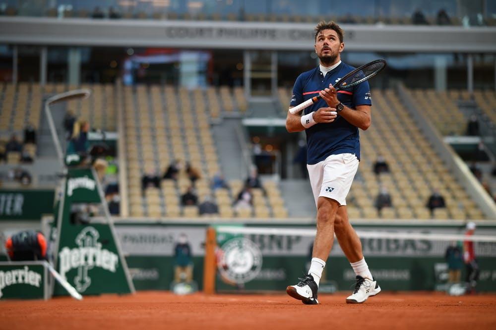 Stan Wawrinka, Roland Garros 2020, first round